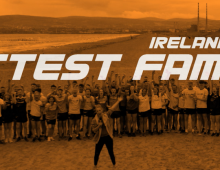 Ireland's Fittest Family Promo style frames